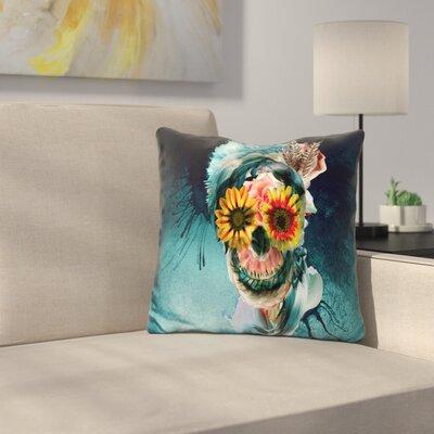 Skull Women Throw Pillow