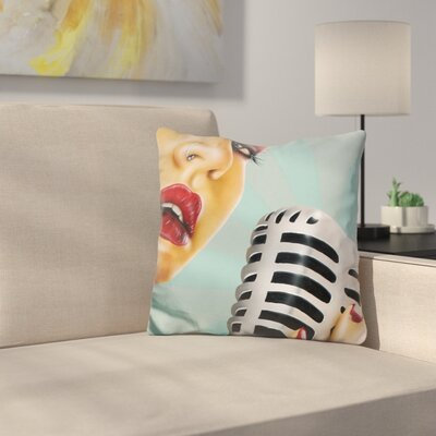 Note Throw Pillow