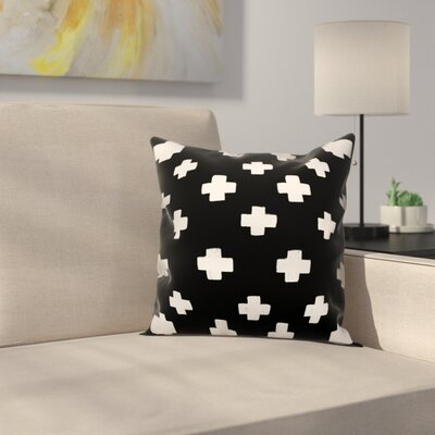 Principato Beason Swiss Cross Size: 16 x 16, Type: Pillow Cover