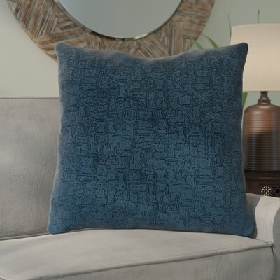 Tarsha Throw Pillow Color: Blue