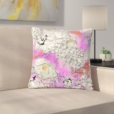 Danii Pollehn Flowerlights Outdoor Throw Pillow Size: 18 H x 18 W x 5 D