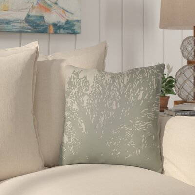 Broadbent Square Throw Pillow Size: 22 H �x 22 W x 5 D, Color: Olive