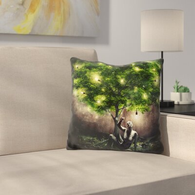 Dear Darkness Throw Pillow