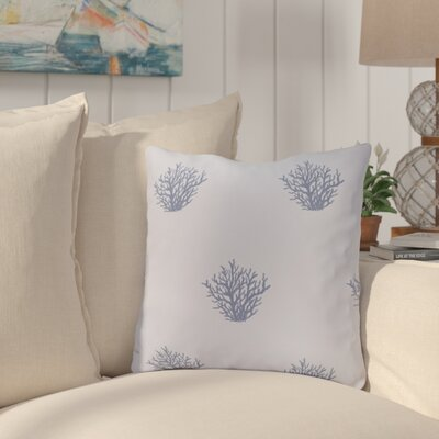 Rajashri Traditional Throw Pillow Size: 26 H x 26 W, Color: Light Blue / Blue