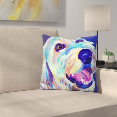 Endoodle Penny Throw Pillow