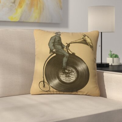 Eric Fan Indoor/Outdoor Throw Pillow Size: 18 H x 18 W x 5 D