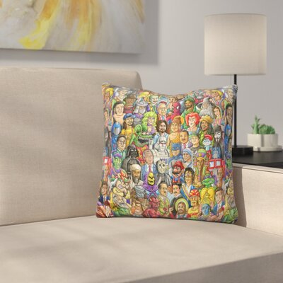 Bad vs Good Throw Pillow