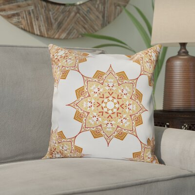 Meetinghouse Rhapsody Outdoor Throw Pillow Size: 18 H x 18 W, Color: Gold