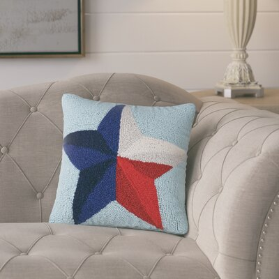 Snoparsky Hook Wool Throw Pillow