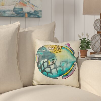Callison Aquarium Fish Throw Pillow