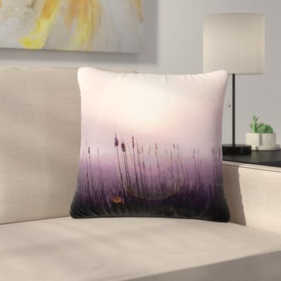 Angie Turner Sunrise Cattails Outdoor Throw Pillow Size: 18 H x 18 W x 5 D
