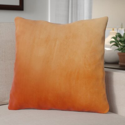 Eason Supersoft Shell Pillow Cover Color: Burnt Orange