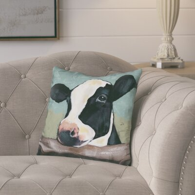 Loughlin Holstein Cow Throw Pillow