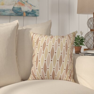 Cedarville Wavy Throw Pillow Size: 26 H x 26 W, Color: Taupe