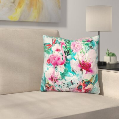Tropical Life Throw Pillow