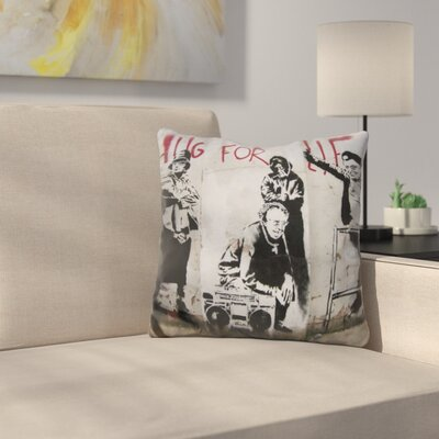 Thug For Life Throw Pillow