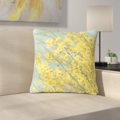 Sylvia Coomes Blooms Outdoor Throw Pillow Size: 18 H x 18 W x 5 D