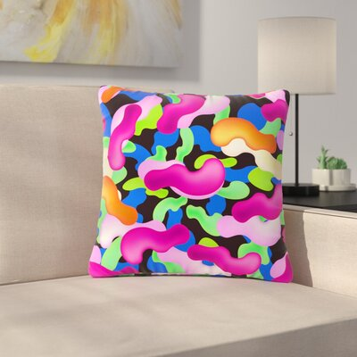 Danny Ivan Thing Outdoor Throw Pillow Size: 16 H x 16 W x 5 D