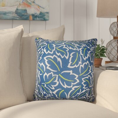 Pankuri Foliage Throw Pillow Color: Blue