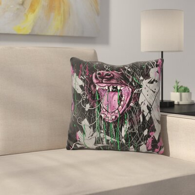 Untamed Throw Pillow