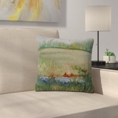 Cyndi Steen Land That I Love Outdoor Throw Pillow Size: 18 H x 18 W x 5 D