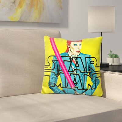 Theres A Starman Throw Pillow