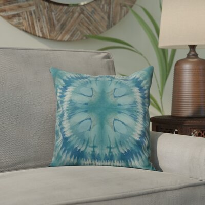 Armstrong Shibori Burst Throw Pillow Size: 16 H x 16 W, Color: Green