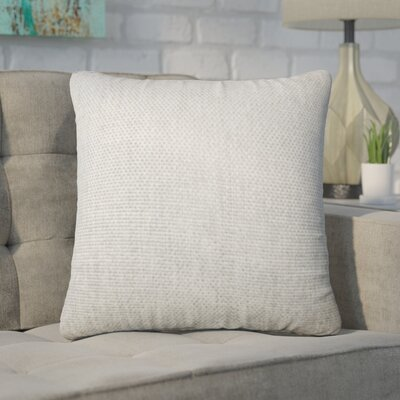 Chapple Solid Throw Pillow Color: Gray