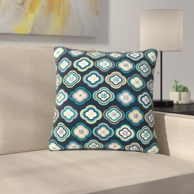 Jolene Heckman Graphic Floral Outdoor Throw Pillow Size: 18 H x 18 W x 5 D