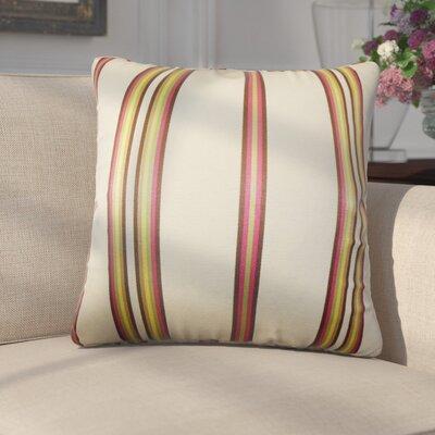 Genevra Stripes Throw Pillow