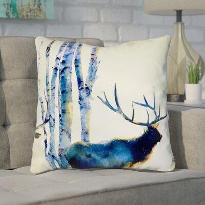Jorgenson Prancer Indoor/Outdoor Throw Pillow