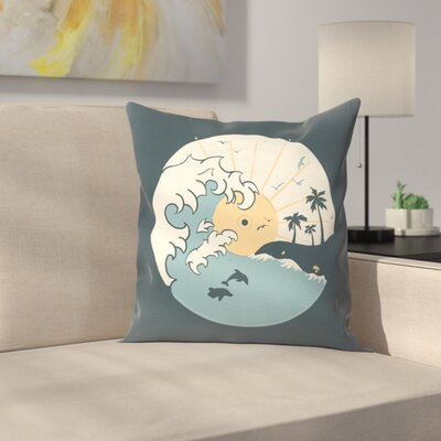 Ocnlp Throw Pillow Size: 18 x 18