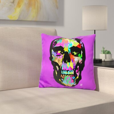 Death Is Beautiful Throw Pillow