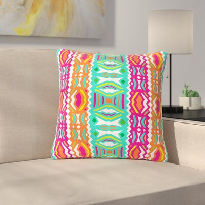 Miranda Mol Ethnic Summer Outdoor Throw Pillow Size: 18 H x 18 W x 5 D