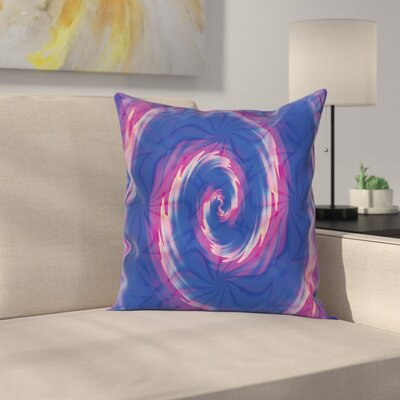 Fabric Ombre Bohemian Batik Square Pillow Cover Size: 24 x 24