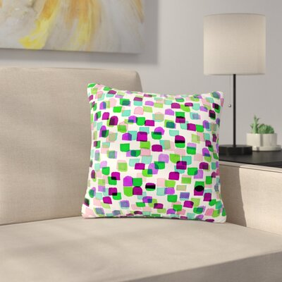 Ebi Emporium Retro Mod Dots 3 Outdoor Throw Pillow Size: 16 H x 16 W x 5 D