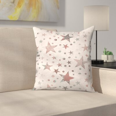 Stars Throw Pillow Size: 18 x 18