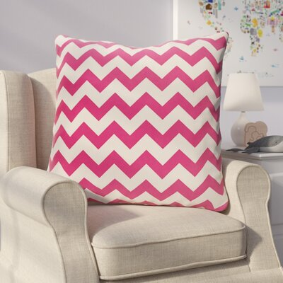 Milo Decorative Outdoor Pillow Color: Fushia, Size: 18 H x 18 W x 1 D