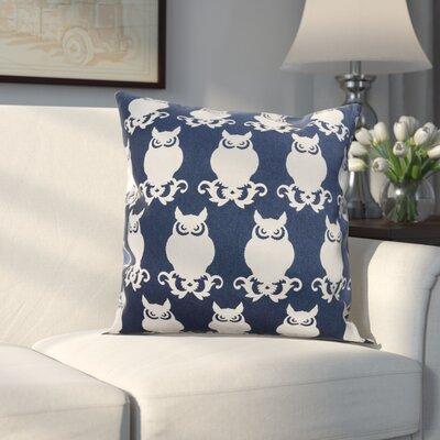 Winchester Cotton Duck Throw Pillow Color: Navy