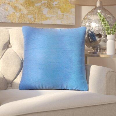 Lindner Solid Throw Pillow Color: Indigo