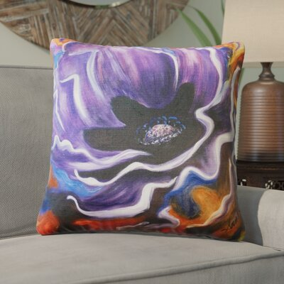 Hubbard Indoor/Outdoor Throw Pillow Color: Purple