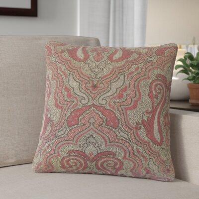 Dieterich Damask Throw Pillow