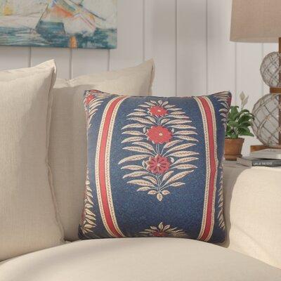 Xamiera Floral Cotton Throw Pillow