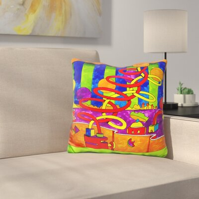 Mambo Double Twist Throw Pillow