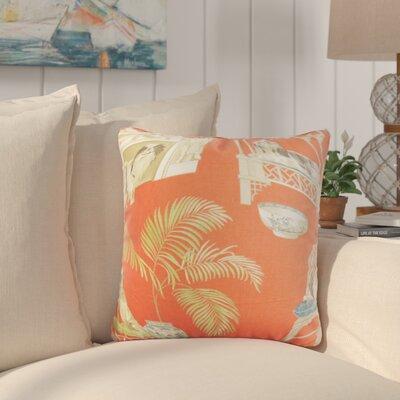 Aashish Animal Print Cotton Throw Pillow Color: Clay