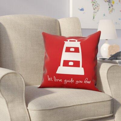 Kacie Love Guide Home Throw Pillow