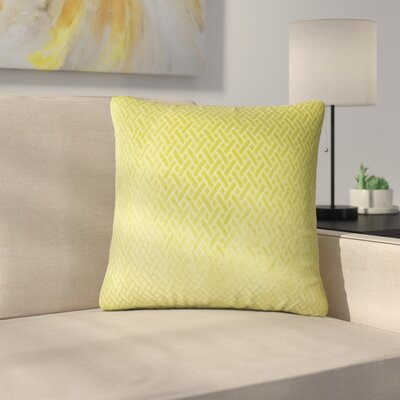 Stradford Solid Throw Pillow Color: Grass