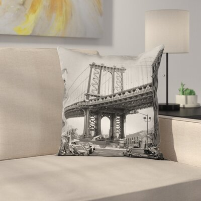 Bridge Pillow Cover Size: 20 x 20