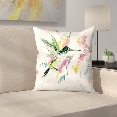 Suren Nersisyan Hummingbird Throw Pillow Size: 16 x 16