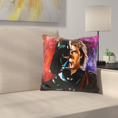 Lord Vader Throw Pillow